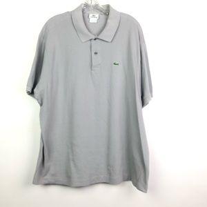 Lacoste   Grey Men's Polo Size L